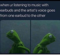 "<p>Who said that *look right* via /r/memes <a href=""https://ift.tt/2pR97qm"">https://ift.tt/2pR97qm</a></p>: when ur listening to music with  earbuds and the artist's voice goes  from one earbud to the other <p>Who said that *look right* via /r/memes <a href=""https://ift.tt/2pR97qm"">https://ift.tt/2pR97qm</a></p>"