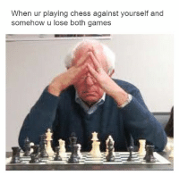 Bernie Sanders, Memes, and Chess: When ur playing chess against yourself and  somehow u lose both games Reminder that Bernie Sanders is still an incompetent waste.