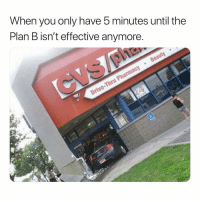 Plan B, Dank Memes, and Clarity: When vou only have 5 minutes until the  Plan B isn't effective anymore That post nut clarity be havin you do the most.