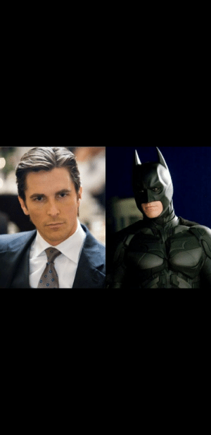 When watching the Dark Knight Trilogy (2005-2012) you might notice that Bruce Wayne and Batman never appear in the same scene. Thia may be because Bruce Wayne is very afraid of bats, which is stated in the first movie: When watching the Dark Knight Trilogy (2005-2012) you might notice that Bruce Wayne and Batman never appear in the same scene. Thia may be because Bruce Wayne is very afraid of bats, which is stated in the first movie