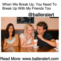 "Being Alone, Bad, and Bae: When We Break Up, You Need To  Break Up With My Friends Too  @balleralert  X MAS:  CRRL  75  Read More: www.balleralert.com When We Break Up, You Need To Break Up With My Friends Too -blogged by @peachkyss ⠀⠀⠀⠀⠀⠀⠀ ⠀⠀⠀⠀⠀⠀⠀ Loyalty goes a long way, especially amongst friends. It makes all the difference in the cutthroat world we live in. You know what the problem is with loyalty though? It is a phrase that is used loosely amongst those we trust and confide in, that you soon realize there is no such thing. Most are only loyal to you, so they can use you to get to where they want or for what they need. However, when it comes to friends and your ex, where does the loyalty lie when they still hang post breakup. ⠀⠀⠀⠀⠀⠀⠀ ⠀⠀⠀⠀⠀⠀⠀ Naturally it's already hard bringing bae around your friends. Some relationships end well while others end on a bad note. Sometimes you find that you're just not compatible with someone and it's better that you part ways. However, when you and your ex decide to end things, sometimes your friends choose to play both sides. ⠀⠀⠀⠀⠀⠀⠀ ⠀⠀⠀⠀⠀⠀⠀ Breaking up with an ex is already a task and hard enough in itself. So when your friends decide to keep in contact, let alone hangout with him or her post breakup, it just makes things that much more awkward and complicated. I'm pretty sure looking at a lot of these entertainment industry friendships, you see a lack of allegiance, respect, and definitely loyalty. ⠀⠀⠀⠀⠀⠀⠀ ⠀⠀⠀⠀⠀⠀⠀ While going through a bad break up or just a rough time, we should be able to call on our friends and vent. However, how can you call them when they are too busy trying being friends with your so-called ""ex."" Not to mention you're stuck witnessing your ex showcasing their new relationship and new friendship alliance with your so called ""friends.""... to read more log on to BallerAlert.com (clickable link on profile)"