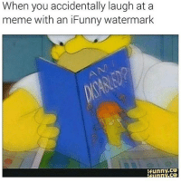 Dank, Memes, and 🤖: When you accidentally laugh at a  meme with an iFunny watermark  funny CO  ,CO Keep it mellow * 😏Follow if you're new😏 * 👇Tag some homies👇 * ❤Leave a like for Dank Memes❤ * Second meme acc: @cptmemes * Don't mind these 👇👇 Memes DankMemes Videos DankVideos RelatableMemes RelatableVideos Funny FunnyMemes memesdailybestmemesdaily boii Codmemes teacher math Meme InfiniteWarfare Gaming gta5 bo2 IW mw2 Xbox Ps4 Psn Games VideoGames Comedy Treyarch sidemen sdmn