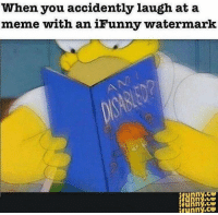 """<p>The answers start at page 20. via /r/dank_meme <a href=""""http://ift.tt/2nfZtMK"""">http://ift.tt/2nfZtMK</a></p>: When you accidently laugh at a  meme with an iFunny watermark  Ni  funny.c  funny.ce  ifunny.ce  ifunny.ce <p>The answers start at page 20. via /r/dank_meme <a href=""""http://ift.tt/2nfZtMK"""">http://ift.tt/2nfZtMK</a></p>"""