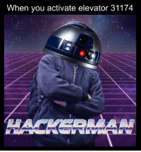 You, Great, and When You: When you activate elevator 31174 Great R2
