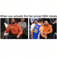 Nba, Apps, and Best: When you actually find fair-priced NBA tickets Guys I'm partnering with @seaterslive to get you guys the best priced tickets for as low as $10!!!Check it out! 1) Press the link in bio 2)Download Seaters App 3)Join your NBA Team's Fan Group 4)Join Wish Lists for Tickets