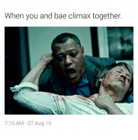 Such a beautiful experience 😍😍😍😍 bae Lovewins LMMFAO hannibal jackcrawford: When you and bae climax together.  7:15 AM 07 Aug 15 Such a beautiful experience 😍😍😍😍 bae Lovewins LMMFAO hannibal jackcrawford