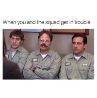 @unilad is hilarious!: When you and the squad get in trouble @unilad is hilarious!