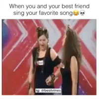 A song to sing to your best friend