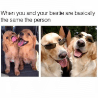 tag a friend (@memes): When you and your bestie are basically  the same the person tag a friend (@memes)