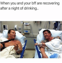 Drinking, Memes, and Sunday: When you and your bff are recovering  after a night of drinking.. Me and @thesassbible every Sunday morning 😷🤢 Follow @thesassbible @thesassbible @thesassbible @thesassbible