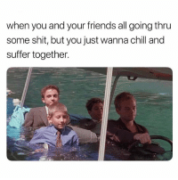The anti social social club: when you and your friends all going thru  some shit, but you just wanna chill and  suffer together. The anti social social club