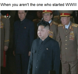 Crying in communism: When you aren't the one who started WWIII Crying in communism