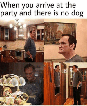 meirl: When you arrive at the  party and there is no dog meirl