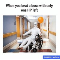 When you beat a boss with only  one HP left  @GAMING I guff.com Totally worth it 🎮 (@gaming) finalfantasyxv darksouls3 destiny dragonquest thewitcher3 rpg gamer gaming ps4 xboxone pc lol memes instagram xp