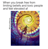 "Af, Tumblr, and Blog: When you break free from  limiting beliefs and toxic people  and feel elevated af <p><a href=""http://thepositivetumbler.tumblr.com/post/152833891547/elevation-af"" class=""tumblr_blog"">thepositivetumbler</a>:</p>  <blockquote><p>Elevation af…</p></blockquote>"