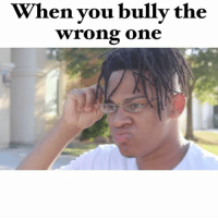 Memes, Jokes, and Comedy: When you bully the  wrong one When you bully the wrong one 😂😂😂😨😨😨... don't bully you never know what could happen 😭😭😭 (JUST JOKES) comedy tagafriend bully bullying dontbully wrongone stab stabbing xxxtentacion magnolia playboicarti justjokes