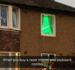 Dank, Memes, and Target: When you buy a razer mouse and keyboard  combo Got ram razer boys by qwerty4321007 MORE MEMES