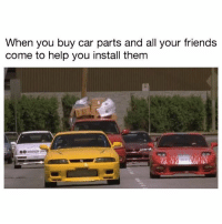 Tag the squad! . . carmemes jdm turbo boost tuner carsofinstagram carswithoutlimits carporn instacars supercar carspotting supercarspotting stance stancenation stancedaily racecar blacklist cargram drift carthrottle itswhitenoise: When you buy car parts and all your friends  come to help you install them Tag the squad! . . carmemes jdm turbo boost tuner carsofinstagram carswithoutlimits carporn instacars supercar carspotting supercarspotting stance stancenation stancedaily racecar blacklist cargram drift carthrottle itswhitenoise