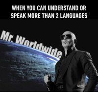 9gag, Dank, and Http: WHEN YOU CAN UNDERSTAND OR  SPEAK MORE THAN 2 LANGUAGES  Mr I see you're a man of culture as well. http://9gag.com/gag/aPBmyXg?ref=fbpic