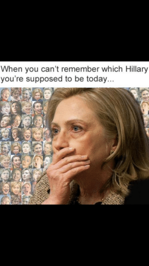 Tumblr, American, and Blog: When you can't remember which Hillary  you're supposed to be today... c-bassmeow:  abacot:  c-bassmeow:  I hate when this happens to me  Pick nay nay Hillary!  Chilling in Cedar Rapids Hillary I choose you!  Today I choose lied-to-the-American-people-that-she-supported-DOMA-to-protect-gays-from-a-constitutional -amendment-even-though-she-was-fact-checked-on-that-and-it-was-a-lie-Hillary I choose you !