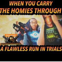 trials of osiris flawless carry