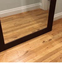 Funny, The Worst, and Mirror: When you catch a glimpse of yourself in the mirror from the worst angle possible (vid via @bosunthefrenchie)