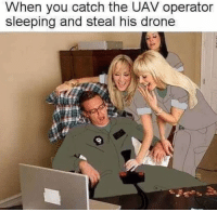 Drone, Memes, and Sleeping: When you catch the UAV operator  sleeping and steal his drone Mw2 remastered looks amazing 😉