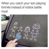 "Http, Roblox, and Gay: When you catch your son playing  fortnite instead of roblox battle  royal <p>Fortnite is gay via /r/MemeEconomy <a href=""http://ift.tt/2Fmrcm1"">http://ift.tt/2Fmrcm1</a></p>"