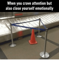 Dank, 🤖, and Friend: When you crave attention but  also close yourself emotionally We all know that dramatic friend  By leninwitch | TW