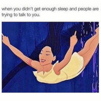 Funny, Memes, and Sleep: when you didn't get enough sleep and people are  trying to talk to you. SarcasmOnly