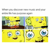 Memes, 🤖, and Musical: When you discover new music and your  entire life has purpose again 😂😂😂