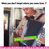 Bailey Jay, Latinos, and Memes: When you don't forget where you come from  @MEXICAWCOMEDY  Use Lyft code MEXCOMEDY50 $200 FREE on 10 rides! LINK IN BIO! 💯🙌🏽💯 FOLLOW @mexicancomedy @mexicancomedy latinas mexican latinos mexicans