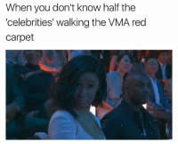 Girl Memes, Celebrities, and Red: When you don't know half the  'celebrities' walking the VMA red  carpet GabyWilson