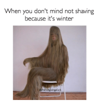 🐻🐻: When you don't mind not shaving  because it's winter  @menotgivingafuck 🐻🐻