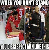 WHEN YOU DON'T STAND  EDNECK  NECK  DANSON  REDNEGKNATIONGEAR.COM  YOU DISRESPECT MEN LIKE THIS The blatant disrespect in this country is making me sick