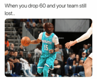 He was going off 🤦‍♂️🔥: When you drop 60 and your team still  lost  NBAMEMES  15 He was going off 🤦‍♂️🔥