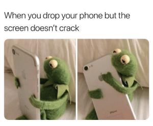 Dank, God, and Memes: When you drop your phone but the  screen doesn't crack  Phone Thank God it's safe by Holofan4life FOLLOW 4 MORE MEMES.