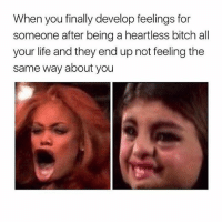 Bitch, Life, and Good: When you finally develop feelings for  someone after being a heartless bitch all  your life and they end up not feeling the  same way about you Riverdale was a good show but it wasn't amazing it started off strong and then became slow....and FYI I do NOT ship Betty and jughead👿 bettyandarchieforeverandever suckhisdickbetty eathisbabiesbetty putaspellonherpussyArchiethenmine