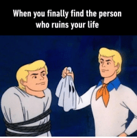 Dank, Life, and 🤖: When you finally find the person  who ruins your life What a surprise...