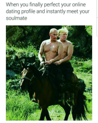 Partner in crimea: When you finally perfect your online  dating profile and instantly meet your  soulmate Partner in crimea