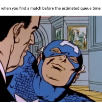 funny league of legends meme: when you find a match before the  estimated queue time funny league of legends meme