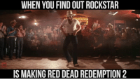 Even John Travolta is hyped: WHEN YOU FIND OUT ROCKSTAR  IS MAKING RED DEADREDEMPTION 2 Even John Travolta is hyped