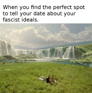 Steam, Tumblr, and Blog: When you find the perfect spot  to tell your date about your  fascist ideals scifiseries:  Had to let the steam out somewhere