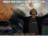 """Image from Bring Me The Horizon's song 'Follow You'. If you're looking for more Instagram meme pages then follow the new meme crew haha. @yeg_jdm_memes @nissan_420sx @brapstustustu @modifiedcars_meme BMTH bringmethehorizon followyou memepage carmeme carmemes modified carporn carenthusiast carphotography carthrottle carfection exotic roadcar racecar torturedtires inspiration iconic perfection petrolhead streetcar DriveTastefully justcarguythings killalltires loveofcars boost v8 motoring maaad: WHEN YOU FINDA CARE MEME PAGEON  INSTA  Clarkson Dan  """"I WILL FOLLOW YOU"""" Image from Bring Me The Horizon's song 'Follow You'. If you're looking for more Instagram meme pages then follow the new meme crew haha. @yeg_jdm_memes @nissan_420sx @brapstustustu @modifiedcars_meme BMTH bringmethehorizon followyou memepage carmeme carmemes modified carporn carenthusiast carphotography carthrottle carfection exotic roadcar racecar torturedtires inspiration iconic perfection petrolhead streetcar DriveTastefully justcarguythings killalltires loveofcars boost v8 motoring maaad"""