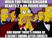 You know what? I'm calling it. Kingdom Hearts 3 release date in the secret ending of Kingdom Hearts 2.8. More specifically at Aqua's story. ~Xigbar: WHEN YOU FINISH KINGDOM  HEARTS 2.8 ON PROUDMODE  AND KNOW THERES GONNA BE  ASECRETENDING AFTERCREDITS You know what? I'm calling it. Kingdom Hearts 3 release date in the secret ending of Kingdom Hearts 2.8. More specifically at Aqua's story. ~Xigbar