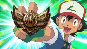 When you finish your placement matches and get excited.: When you finish your placement matches and get excited.