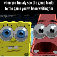 Memes, 🤖, and Gaming Pc: when you finnaly see the game trailer  to the game you've been waiting for Finally* - Like my memes? Turn on my post notifications! 📲 - GamingPosts CaulOfDuty CallOfDuty Memes Cod JustinBieber Gaming PC Xbox LMAO Playstation Ps4 XboxOne CSGO Gamer Battlefield1 SelenaGomez بوس_ستيشن GTA Follow MLG Meme InfiniteWarfare MWR Like YouTube Relatable Like4Like Like4Follow DankMemes