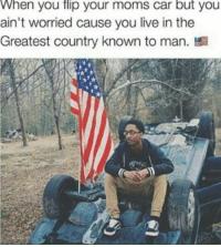 <p>Still gonna get ur ass whooped. (via /r/BlackPeopleTwitter)</p>: When you flip your moms car but you  ain't worried cause you live in the  Greatest country known to man. <p>Still gonna get ur ass whooped. (via /r/BlackPeopleTwitter)</p>