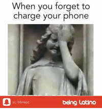 Android, Iphone, and Latinos: When you forget to  charge your phone  sc: blsnapz  being Latino This is the worst! Agree? iphone phone charger android funnymemes meme latinos funnymemes beinglatino