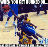 Westbrook in college tho...🔥: WHEN YOU GET DUNKED ON  @NBAMEMES  AND YOU START TO WONDER IF BALL IS REALLY LIFE Westbrook in college tho...🔥